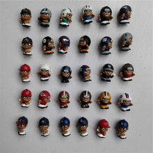 100pcs/lot Wholesale MLB NFL AFL USFL Rugby US Football/Baseball Star Player kawaii mini cute figure toy for boy Promotion gift