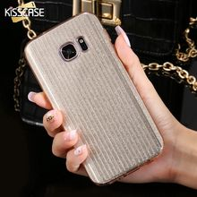 Buy KISSCASE Samsung Galaxy S7 Luxury Glitter Case Bling Hard PC + Soft TPU Hybrid Phone Cases Samsung Galaxy S7 Edge Cover for $2.99 in AliExpress store