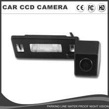 CCD Car Rear View Reverse Camera For SKODA Yeti Superb backup Camera Waterproof Night Vision Parking Assist System Vehicle Camer