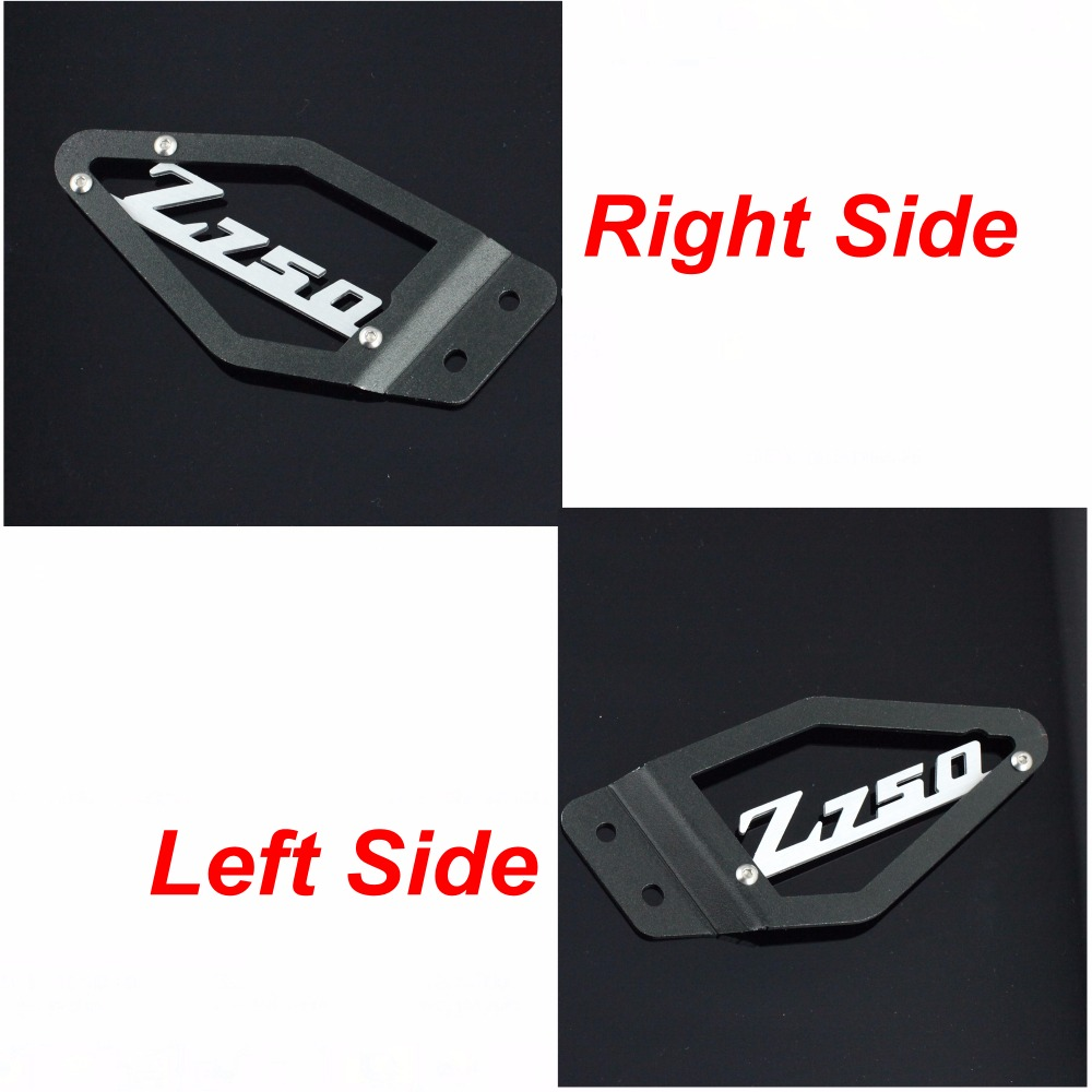 Foot Peg Heel Plates Guard Protector For Kawasaki Z750 2007 2008 2009 Motorcycle Accessories<br><br>Aliexpress