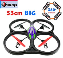 WLtoys V262 53cm Big RC Quadcopter with Camera 1080P HD Remote Control Helicopter 4CH RTF Quadrocopter Drone Better X8C V353