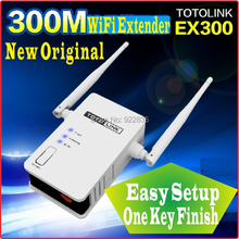 One Key Finish Setup [English-Firmware] Totolink 300Mbps WiFi Universal Repeater WiFi Range Extender, WiFi Amplifier PROM5(China)