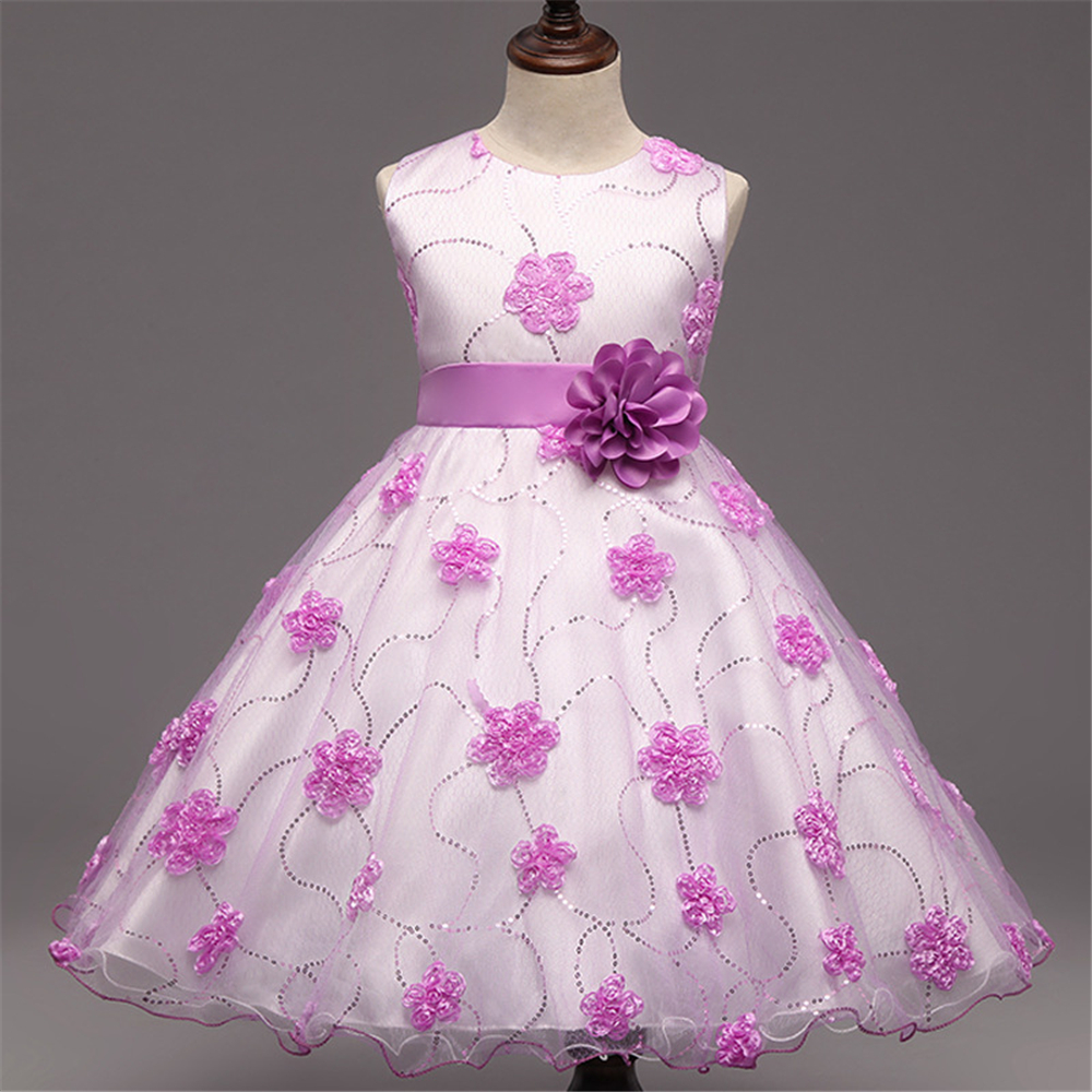 Girls Bridesmaid Dresses for Teenager Wedding Dress Children Elegant Princess Party Dress with Flower Bow Kids Clothes Vestido<br><br>Aliexpress