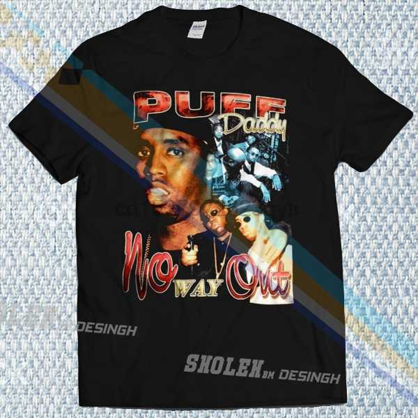 Вдохновленная Puff Daddy No Way Out Футболка Хип-Хоп Rap Tour Merch Limited vintage