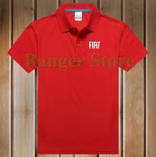 Brand For women and mens' 4S Fiat car Logo Polo Shirt Size S-3XL