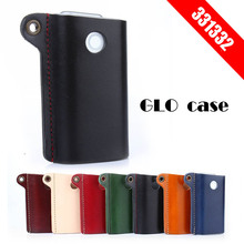 Original 331332 Box Holder Storage Pouch Bag GLO Leather Case  for GLO Carrying Full Protective Case for GLO e Cigarette