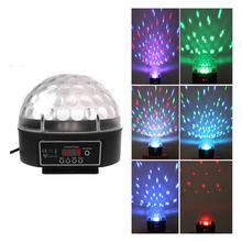 Crystal Ball LED 120 Degree Party Light Black 512 Display Board Fantastic 88 E CLH