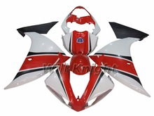 Body Cover for Yahama YZF1000 YZF R1 2009 2010 2011 2012 ABS Injection Molding Fairing Kit Red White