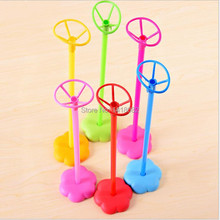 6pcs Balloon Accessories Flower Table Base Balloon Stick Stand Wedding Birthday Party Decoration table mini balloon column base(China)