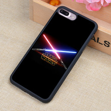 Cool Star Wars Printed Phone Case Skin Shell For iPhone 6 6S Plus 7 7 Plus 5 5S 5C SE 4 4S Rubber Soft Cell Housing Cover