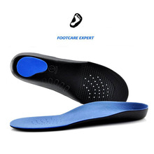 1 Pair EVA Adult Flat Foot Arch Support Orthotics Orthopedic Insoles Gel Shoe Pads Inserts Foot Care for Men and Women