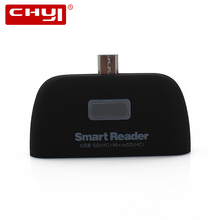 USB 2.0 Card Reader Micro USB OTG 1 Smart Reader SD T-Flash Memory Card Reader Android Smart Phone Mulfunsctional Adapter