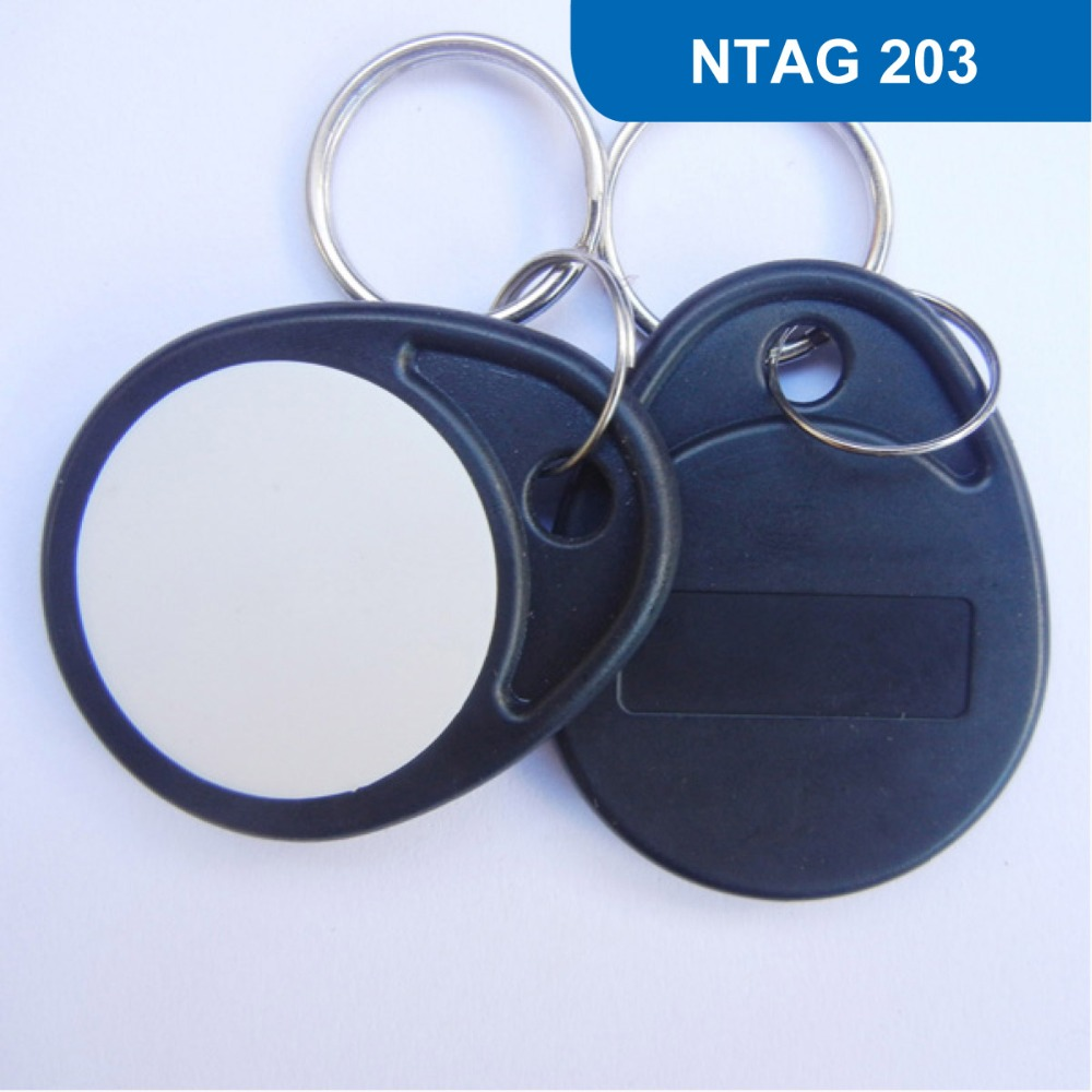 NO. 4 RFID Key Tag, ISO14443A  13.56MHZ, NFC Tag, RFID Token RFID KEY FOB for access control  with NTAG 203 Chip free shipping<br><br>Aliexpress