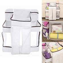 Mayitr Baby Playard Nursery Bed Storage Home Clothes Organizer Diaper Clothes Hanging Bags Multi Furniture Accessories