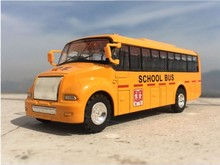 Emulational Car Model Toys, Classic School Bus, Brinquedos Miniature Pull Back  car toys for children