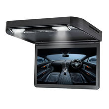 "13.3"" HD 1080p Car Roof Mount DVD Player Flip Down Monitor Screen with HDMI port LED light Van Bus 24V 12V"