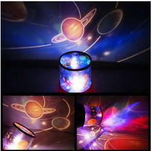 Music universe Lights Hot Rotating Musical Star Sky Master Projectors Led Blue Light Amazing Night Sky Light Romantic Lamp(China)