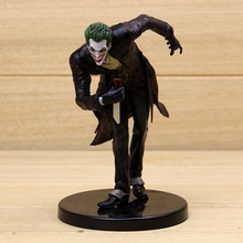 DC Comics Arkham origins Batman Series Direct The joker Statue PVC ACTION Figure Resin Collection Model Toy Gifts Doll(China)