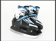 High quality! hockey skate shoes stainless ice blade adult kids ice hocky skate shoes(China)