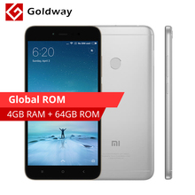 "Global ROM Original Xiaomi Redmi Note 5A Mobile Phone 4GB RAM 64GB ROM Snapdragon 435 Octa Core 5.5"" 16.0MP Camera Fingerprint(Hong Kong,China)"