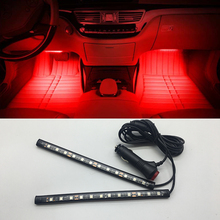 Car LED Interior Decoration lighting Atmosphere Decorative Lamp for PEUGEOT 307 308 407 508 408 RCZ 206 306 207 208 406 5008 607