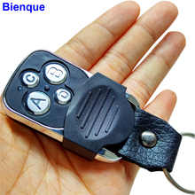 Electric 4-Channel Cloning 433MHZ Garage Door Remote Control Transmitter Duplicator Rolling Code Face to Face Key Fob Universal(China)