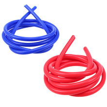 Car-styling 2M 3mm/4mm/6mm/7mm Vacuum Hose Tubing Blue Red Color For Water Oil Vacuum Transport Pipe Line Universal For Cars