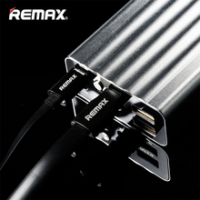Buy Remax 20000mAh Double USB Poverbank LED Quick Charge Power Bank External Battery Portable Charger Xiaomi tablets phone for $30.75 in AliExpress store