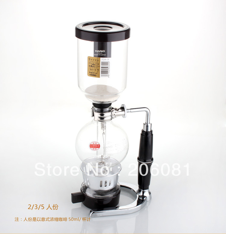 Hario New tabletop coffee syphons, vacuum coffee maker , 3cups ,competitive price and excellent quality<br>