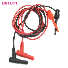 New Banana Plug To Test Hook Clip Probe Cable For Multimeter Test Equipment #G205M# Best Quality