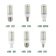 Mabor E12/E14/E26/E27/G9/GU10 110V 9W 5730 56LEDs Corn Bulb Lamp Home Bedroom Bright Light Warm White