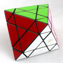 MF8 57mm 3x3x3 Crazy Octahedron Speed Puzzle Magic Cube Educational Toys for Kids Children(China)