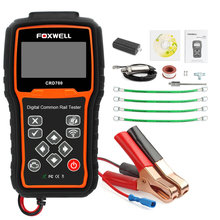 Foxwell CRD700 Digital Common Rail Pressure Tester Checks High-Pressure Pump of Common Rail Systems