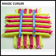 18pcs/set 55cm long diameter 1.5cm easy use Magic hair curler magic hair roller spiral curls roller magic roller, magic curler