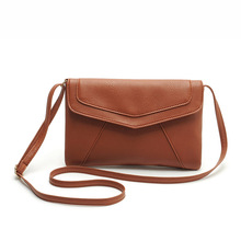 PU leather Women Envelope Messenger bags Slim Crossbody Shoulder bags Handbag Small Cross body bags Satchel Ladies Purses 2017