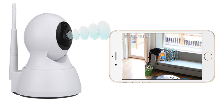 H.VIEW 720P IP Camera 1200tvl Surveillance Camera PTZ CCTV Cameras Camara iOS Android Remote View IP Wifi Cameras (6)