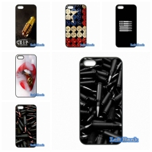 Loose Gold Bullets gun Bullet Phone Cases Cover For Apple iPhone 4 4S 5 5S 5C SE 6 6S 7 Plus 4.7 5.5 iPod Touch 4 5 6