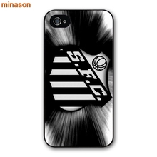 minason Santos FC Logo Cover case for iphone 4 4s 5 5s 5c 6 6s 7 8 plus samsung galaxy S5 S6 Note 2 3 4 H3645(China)