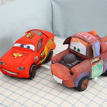 30cm Plush Cars Toy Cars Toys 3 Stuffed Soft Doll NO. 95 Car Mater Children Gift Cars Toys For Kids Boy