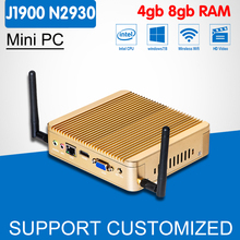 Game Computer J1900 N2930 N2940 VGA Windows 10 Mini PC Laptop Case DDR3 8G RAM SSD Optional Mini Computer Mini Desktop(China)