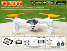 Lastest Upgrade Walkera QR W100S Iphone/IOS/Android FPV 30W Pixel HD Camera Wifi Control RC mini Helicopter Quadcopter Body Kit