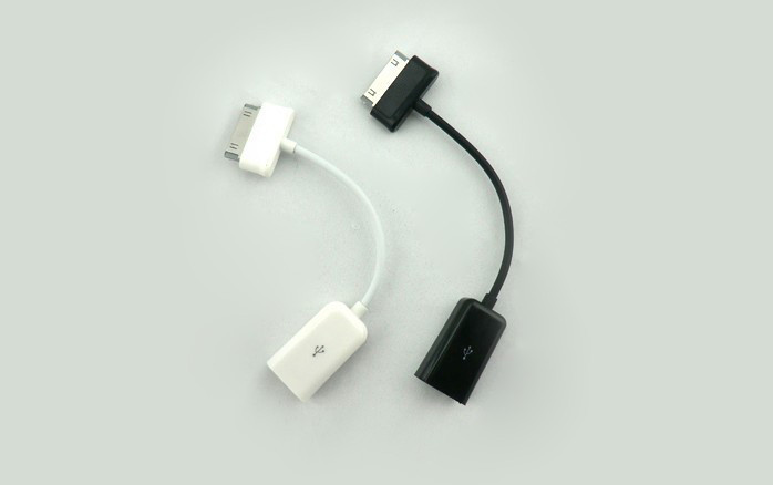 USB Host OTG Adapter Cable For Samsung Galaxy 10.1 Tab 2 Tablet pc Free Shipping(China (Mainland))