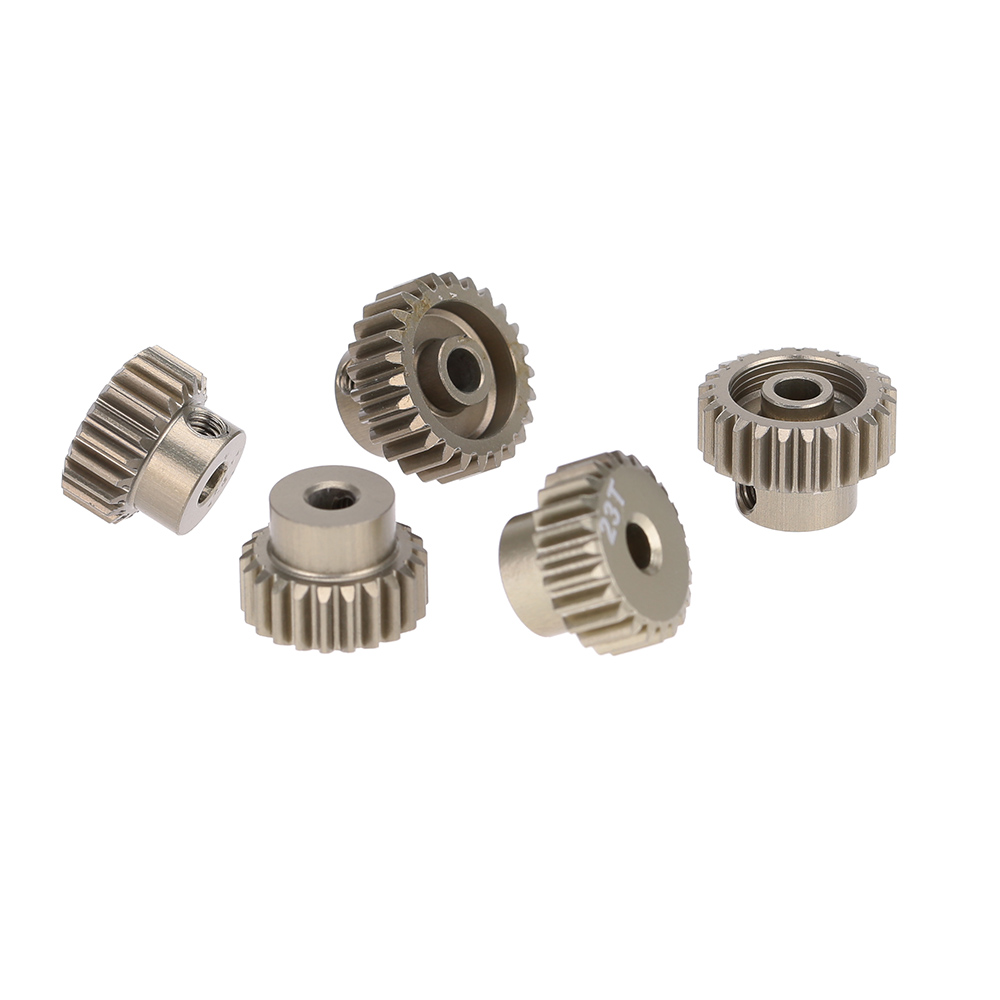 GoolRC 48DP 21T 22T 23T 24T 25T Metal Pinion Motor Gear Combo Set for 110 RC Car Brushed Brushless Motor Gears RC Model Part (8)