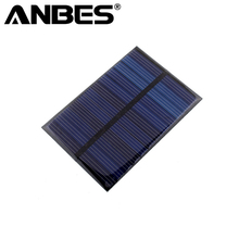 6V 0.6W Solar Power Panel Module DIY Small Cell Charger For Light Battery Phone Toy Portable Solar Cells Battery Phone charger