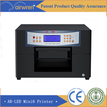 new technology a4 szie uv printer flatbed inkjet printing machine for ID card(China)