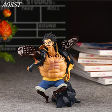 (AOSST) POP Anime One Piece Monkey D. Luffy sc Limited Edition 4 Stall PVC 15CM Action figure Doll Christmas Gifts For Children