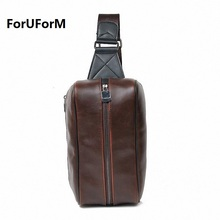 2017 new fashion Men bags leather chest pack big package women messenger bag man mobile Unisex Bag bolsos travel bags LI-599(China)