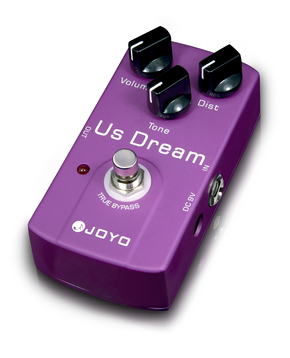 JOYO US Dream Guitar Effect Pedal Simulates the High-gain Distortion Tone Of A Driven Tube Amplifier<br>