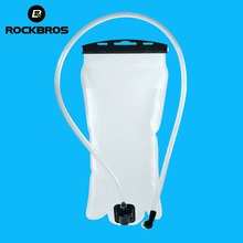 ROCKBROS Outdoor Sports 2L Bike Water Bag PEVA Portable Eco-friendly Bicycle Water Bottle For Cycling Camping Hiking Climbing(China)
