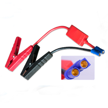 Cheap Price Portable Mini Alligator Clips Jumper Wire for Car Battery Jump Starter Charger(China)